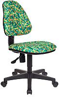 Кресло детское Бюрократ KD-4 (зеленый карандаши) -
