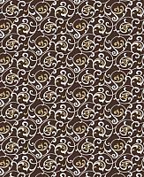 Простыня Samsara Завитки Шоколад 145Пр-6 -