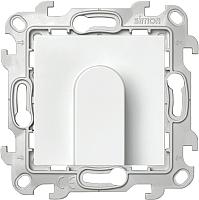 Вывод кабеля Simon 2410801-030 (белый) -