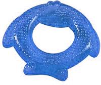 Прорезыватель для зубов Sun Delight Рыбка / 39019 (синий) -