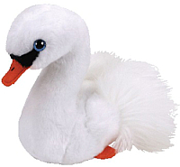 Мягкая игрушка TY Beanie Boo's Лебедь белый Gracie / 41035 -