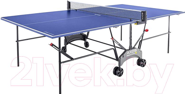 Теннисный стол KETTLER, Axos Outdoor 1 / 7047-950 (с сеткой), Китай, пластик  - купить со скидкой