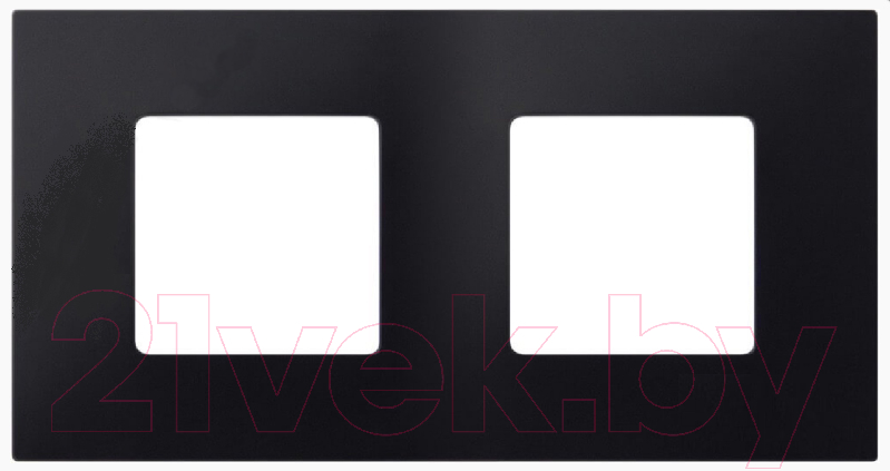 Рамка для выключателя Simon, 2700627-071 (черный), Россия, пластик, Simon 27 Play (Simon)  - купить со скидкой