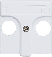 Лицевая панель для розетки Simon 27053-34 (белый) -