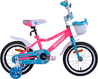 Детский велосипед AIST Wiki 2019 (14, розовый) -