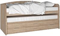 Двухъярусная кровать Артём-Мебель СН 108.02 (дуб сонома) -