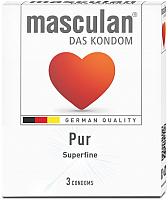 Презервативы Masculan Pur №3 -
