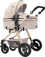 Детская универсальная коляска Lorelli Alexa 2 в 1 Beige Triangles / 10021261965 -