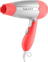 Компактный фен Galaxy GL 4301 (коралловый) -