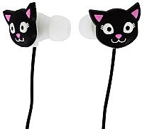 Наушники-гарнитура Pylones Black Cat 31237 (черный) -