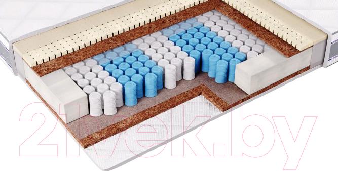 Матрас Фабрика сна, S-6 180x200, Беларусь, белый  - купить со скидкой