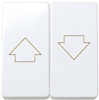Лицевая панель для выключателя Simon 27028-35 (белый) -