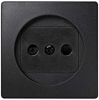 Лицевая панель для розетки Simon 73040-62 (графит) -