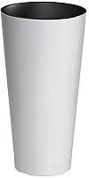 Кашпо Prosperplast Tubus Slim 400 / DTUS400-S449 (белый) -