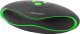 Портативная колонка Esperanza EP117KG (черный/зеленый) -