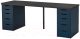 Письменный стол Ikea Линнмон/Алекс 493.040.19 -