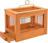 Клетка для птиц ZooM Ретро-кантри / RP8760клен -
