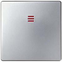 Клавиша для выключателя Simon 82011-33 (алюминий матовый) -