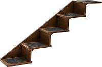 Лестница-когтеточка ZooM Паркур / RP84997 -