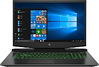 Игровой ноутбук HP Pavilion Gaming 17-cd0002ur (7DX28EA) -