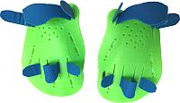 Лопатки для плавания Sabriasport DP03 (зеленый) -