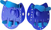 Лопатки для плавания Sabriasport DP05 (синий) -