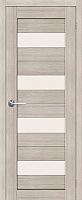 Дверь межкомнатная Юркас Stark ST2 90x200 (мателюкс/капучино) -