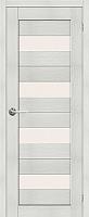 Дверь межкомнатная Stark ST2 90x200 (мателюкс/бьянко) -