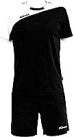 Форма волейбольная Mikasa MT351-046-XXL (черный/белый) -