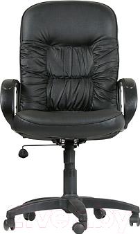 Кресло офисное Chairman 416 (экокожа, глянцевый черный)