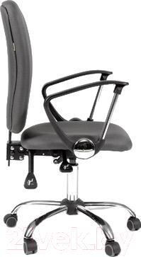 Кресло офисное Chairman 9801 Chrom (серый)