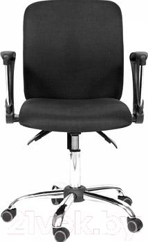 Кресло офисное Chairman 9801 Chrom (черный)