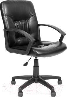 Купить Кресло офисное Chairman, 651 (экокожа, черный), Россия