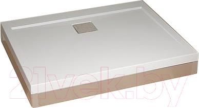 Экран для душевого поддона Radaway Front Panel Argos D800x1200 / 4OSLAD0812C (хром)