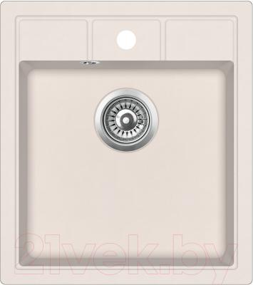Мойка кухонная Aquasanita SQN100W (силика)