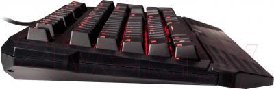 Клавиатура Tesoro Durandal Ultimate TS-G1NL (переключатели Cherry MX Blue) - вид сбоку