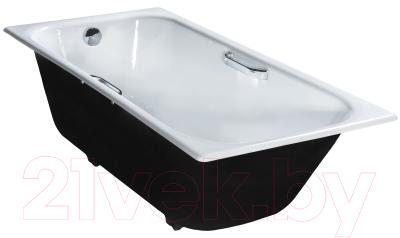 Ванна чугунная Универсал Ностальжи-У 150x70 (1 сорт, с ножками)