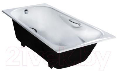 Ванна чугунная Универсал Сибирячка-У 170x75 (1-й сорт, с ножками)