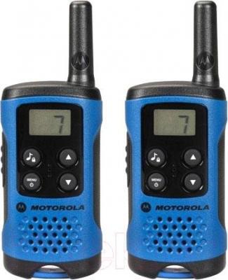 Рация Motorola TLKR-T41 (синий) - общий вид