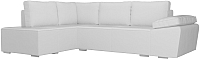 Комплект мягкой мебели Лига Диванов Хавьер левый / 101268 (экокожа белый) -