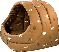 Домик для животных Дарэлл Лукошко / RP9752 (коричневый) -