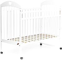 Детская кроватка Bambini Comfort М 01.10.18 (белый) -