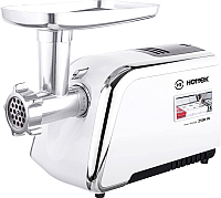 Мясорубка электрическая Hottek HT-976-005 (белый) -