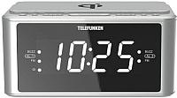Радиочасы Telefunken TF-1595U (серебристый) -