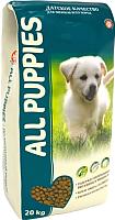 Корм для собак All Puppies Полнорационный для щенков (20кг) -