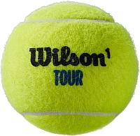 Набор теннисных мячей Wilson Tour Premier All CT 4 BALL CAN / WRT119400 -