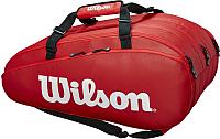 Сумка теннисная Wilson Tour 3 Comp RD / WRZ847915 -