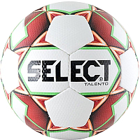 Футбольный мяч Select Talento / 811008-103 (размер 5, белый/красный/зеленый) -