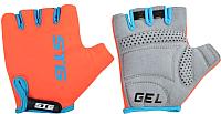 Перчатки велосипедные STG AL-03-325 / Х74365 (S, оранжевый/черный) -