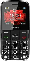 Мобильный телефон Texet TM-B227 (черный) -